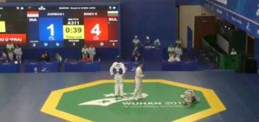 Сериозна травма за Калоян Бинев на Седмите военни световни игри