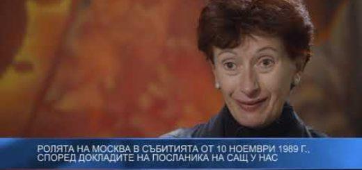 Ролята на Москва в събитията от 10 ноември 1989 г., според докладите на посланика на САЩ у нас