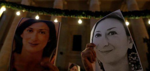 убийството на журналистката Дафне Каруана Галиция от Малта
