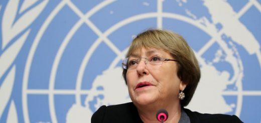 Върховният комисар на ООН за правата на човека Мишел Бачелет