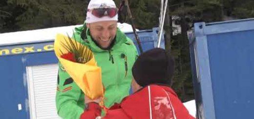 Зимна военна спартакиада ски ориентиране