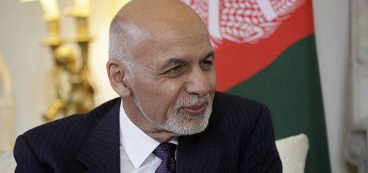 Afghanistan's President Ashraf Ghani