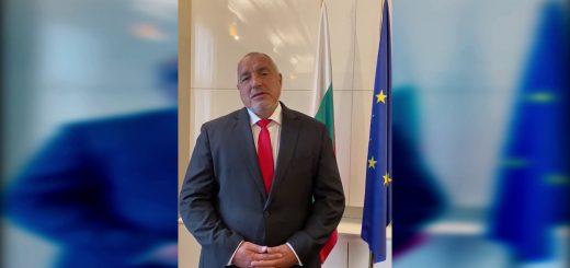 Министър-председателят Бойко Борисов участва в специалното видеопослание на лидерите на Европейския съюз по случай 9 май, Денят на Европа.