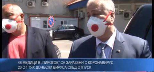 """48 медици в """"Пирогов"""" са заразени с коронавирус – 20 от тях донесли вируса след отпуск"""