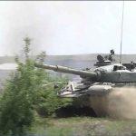 Танкистите от Центъра за подготовка на специалисти в Сливен изпълниха стрелба с щатен изстрел с въоръжението на танк Т 72