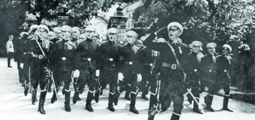 Военния парад пред царския дворец в София на 7 септември 1940 г.