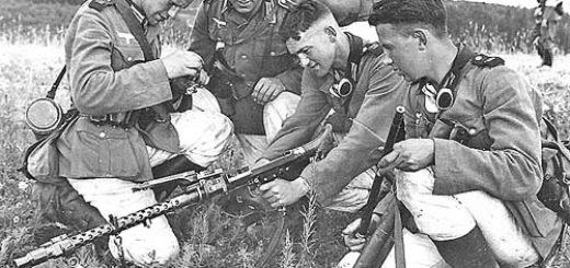 Немски войни заменят цев на MG 34