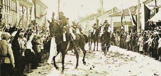 1А-Триумфално посрещане на войските в Добрич, 25 септември 1940 г.