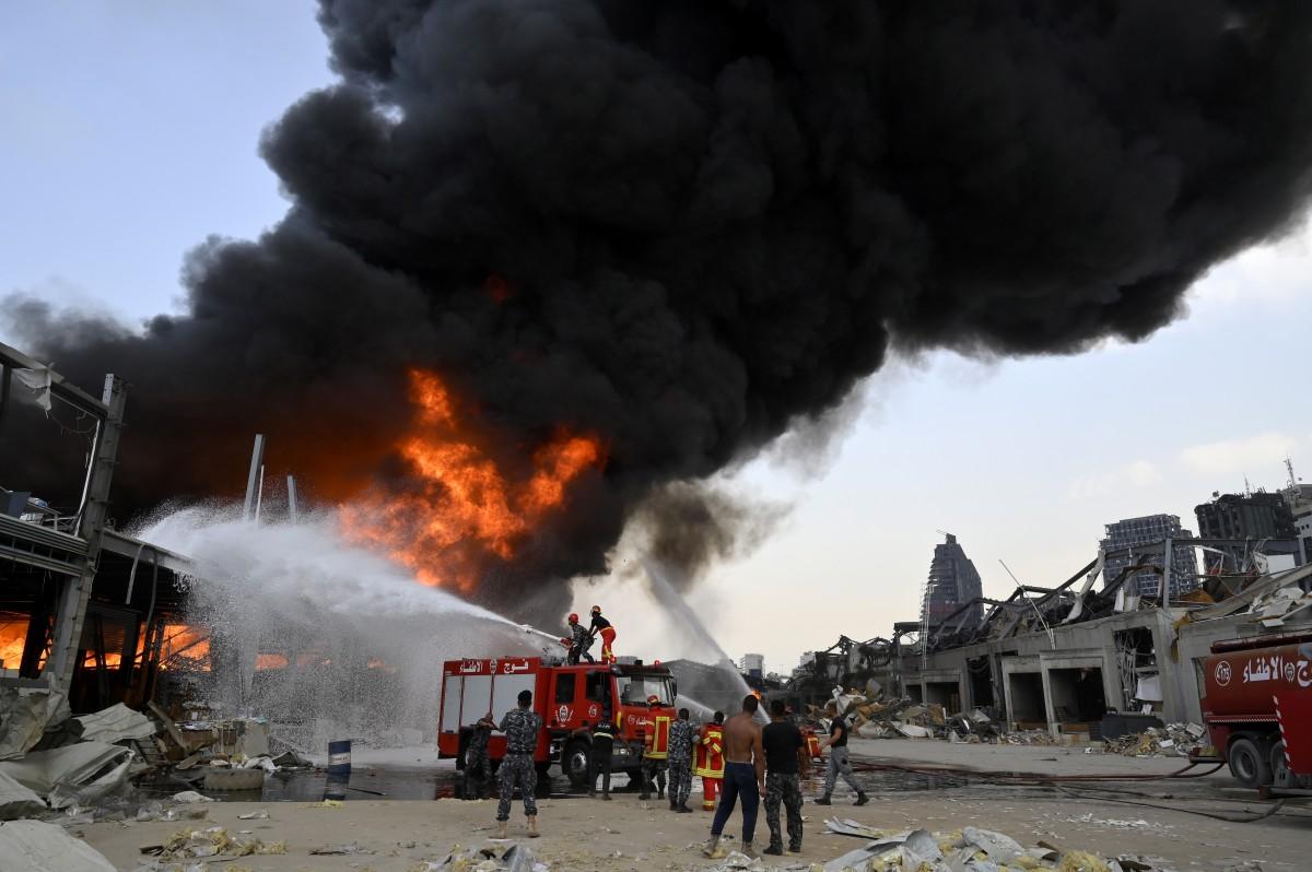 Двама убити и осем ранени при стрелба по време на протест в Бейрут