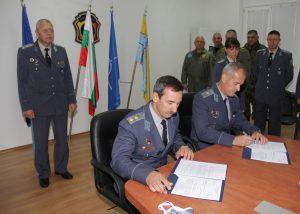 """Бригаден генерал Николай Русев встъпи официално в длъжност """"Командир на 3-та авиационна база"""""""