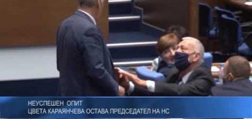 Неуспешен опит: Цвета Караянчева остава председател на НС