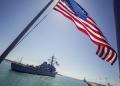 Американски боен кораб отново мина през Тайванския проток