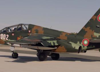 """Младши пилоти се обучават на ремонтираните СУ-25 в авиобаза """"Безмер"""""""