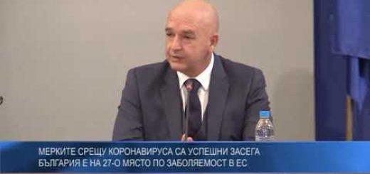 Мерките срещу коронавируса са успешни засега, България е на 27-о място по заболяемост в ЕС