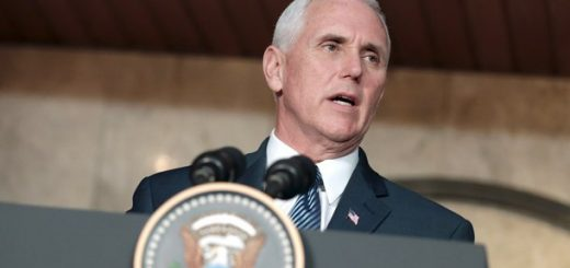 USA_Vice President Mike Pence in Jakarta