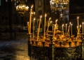Българската православна църква почита църковния празник Свети Дух, който се отбелязва 51 дни след Великден