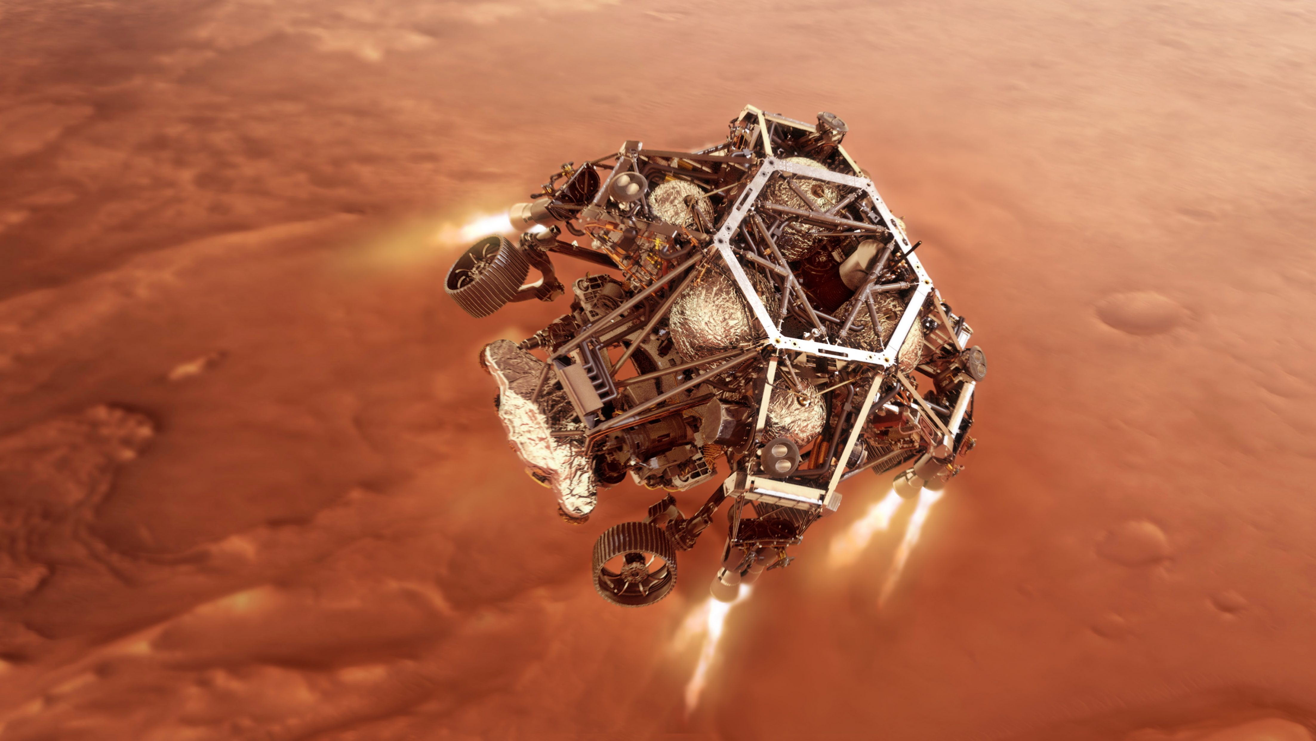 Революционен успех - НАСА извлече кислород от атмосферата на Марс