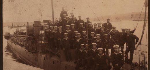 Моряци от миноносеца Смели