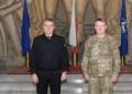 Адмирал Ефтимов се срещна с генерал-майор Кристофър Мохан