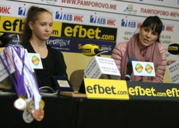 """Татяна Воложанина поведе в класирането за многобоя на Купа """"София"""""""