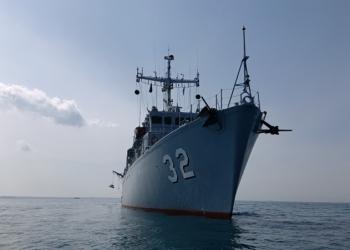 """Екипажът на минен ловец """"Цибър"""" доказа способностите си в гръцкото противоминно учение """"Ариадне - 2021"""""""