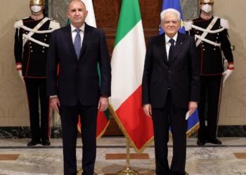 Президентите Румен Радев и Серджо Матарела обсъдиха в Рим възможностите за насърчаване на двустранното икономическо и инвестиционно сътрудничество