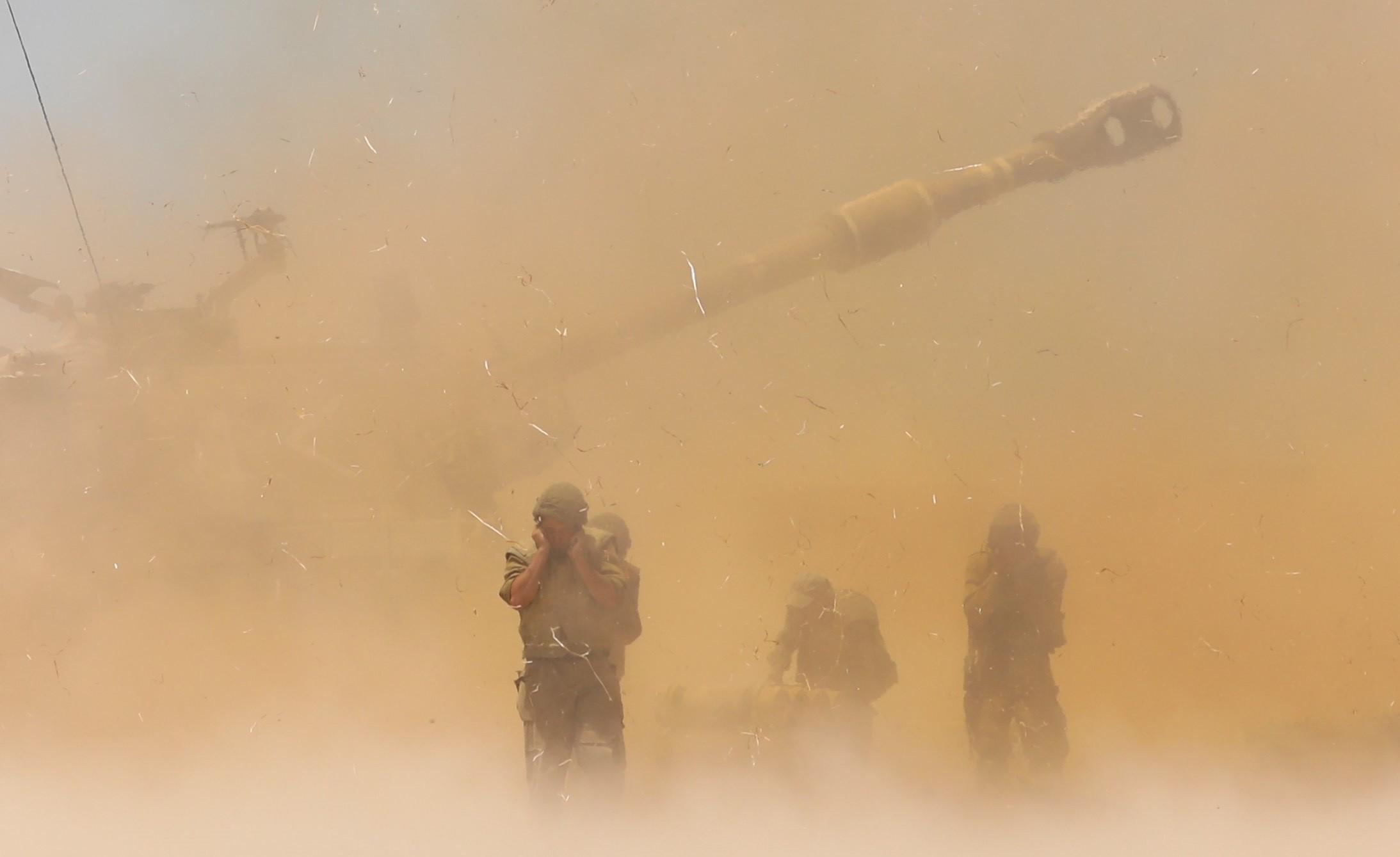 В Газа Израел действа срещу организирани терористични армии, заяви висш военен от еврейската държава