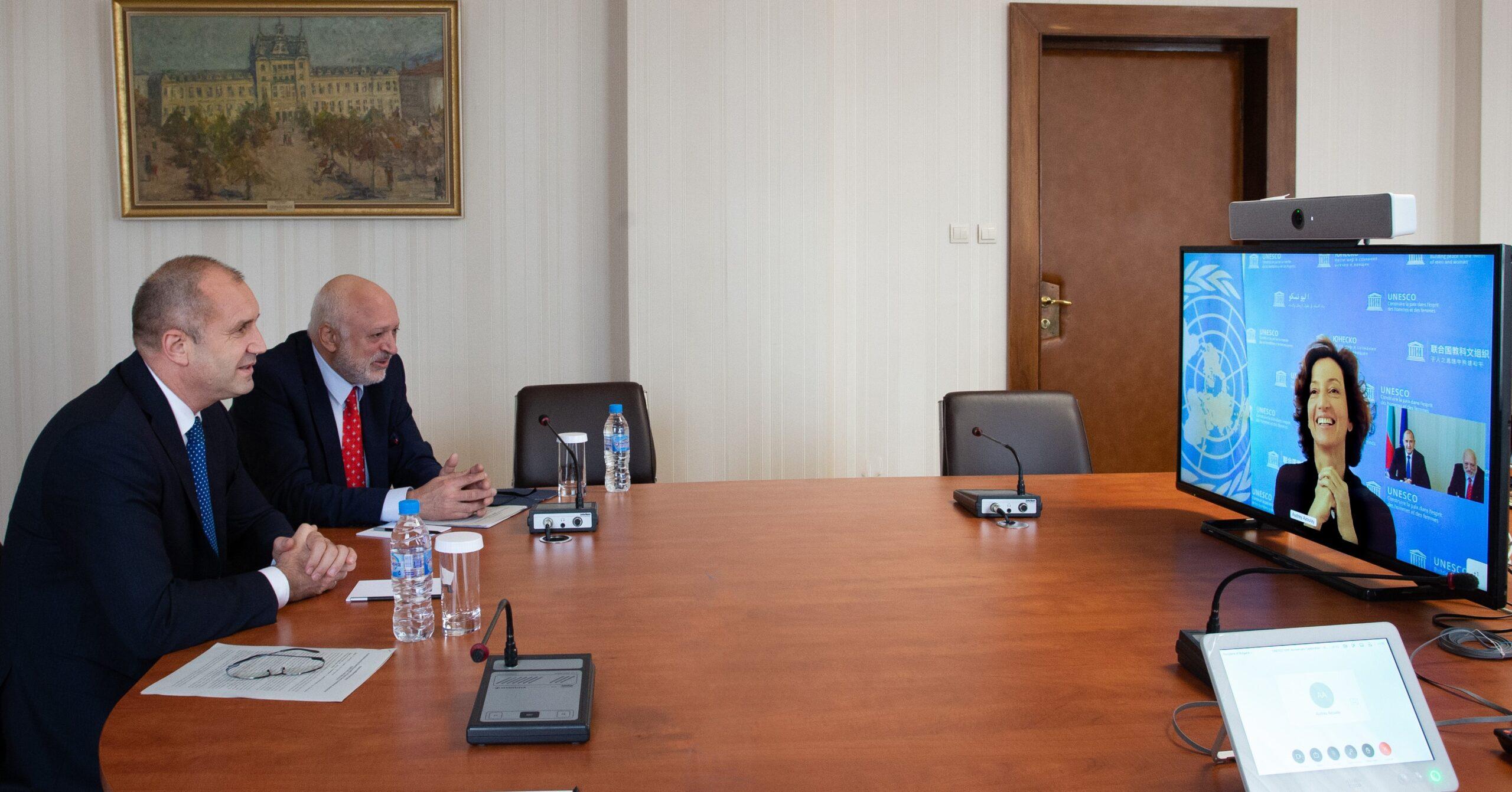 Румен Радев: Истинското европейско обединение е изградено на основата на споделени културни ценности, а не на финансови средства