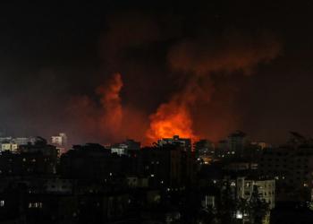 Израел нанесе отново въздушни удари в Газа