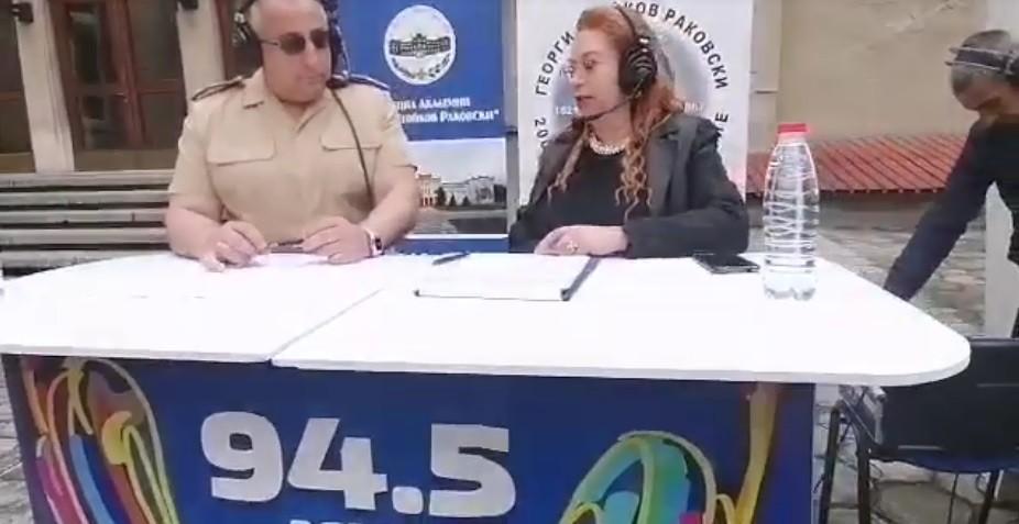 "Радио София гостува на Военна академия ""Георги С. Раковски"""