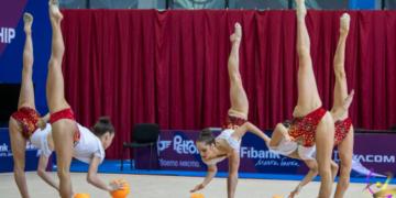 Златен медал за ансамбъла на България в многобоя на Световната купа в Баку, Боряна Калейн със сребро при жените