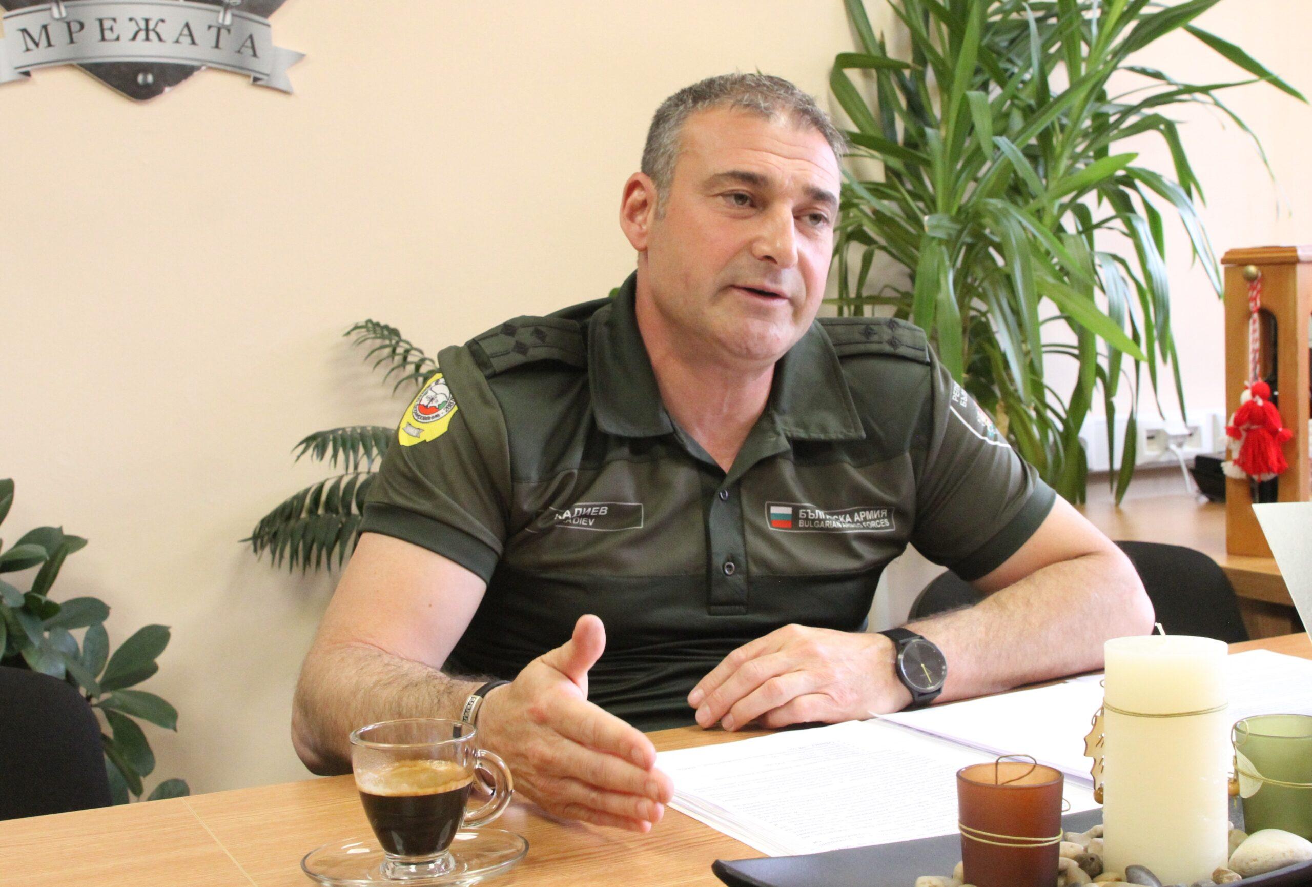 Полковник инж. Красимир Кадиев: Окомплектоването при нас достига 98 %