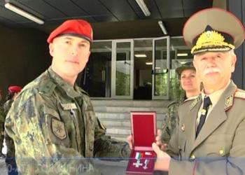 Награди за 10-ата годишнина на първото формирование на НАТО у нас