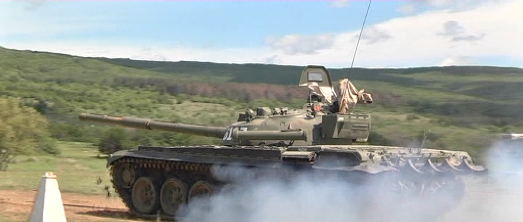 """61-ви танков батальон от Центъра за подготовка на специалисти провежда стрелба на полигон """"Ново село"""""""