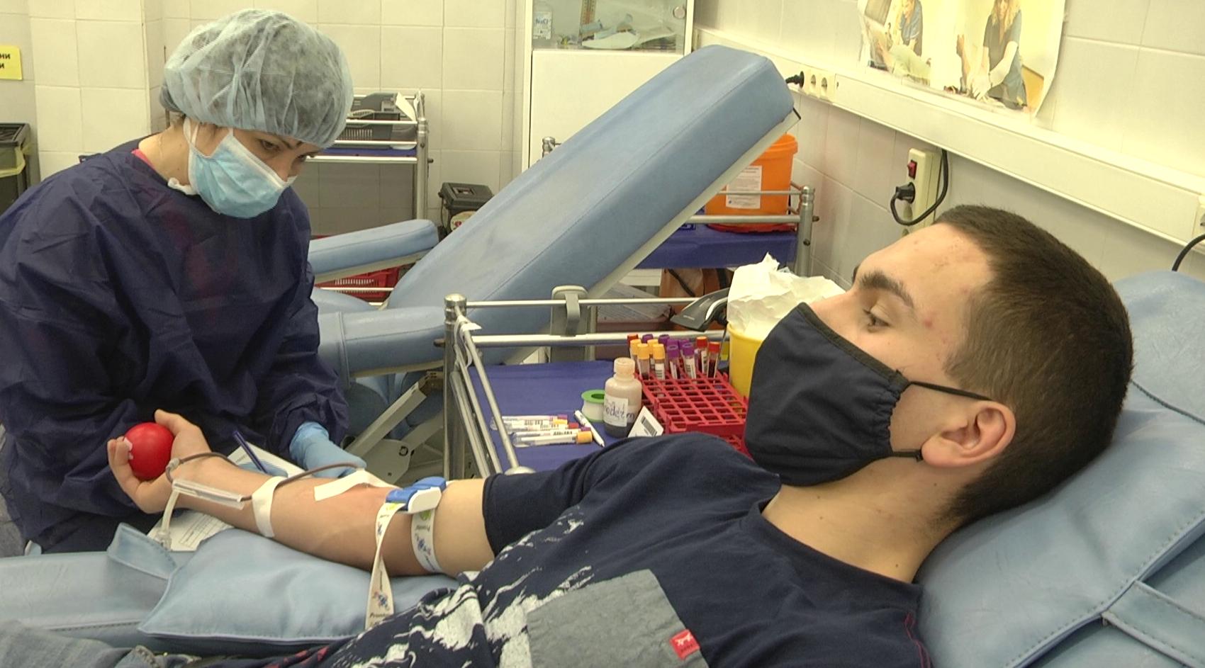 В Световния ден на кръводарителя ВМА отбелязва скок на кръводаряванията за година