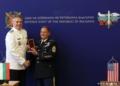 Главен сержант Майкъл Джентри с престижно българско отличие