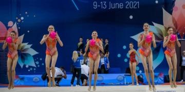 Българският ансамбъл за девойки със сребро в многобоя на Европейското първенство, титла за Русия