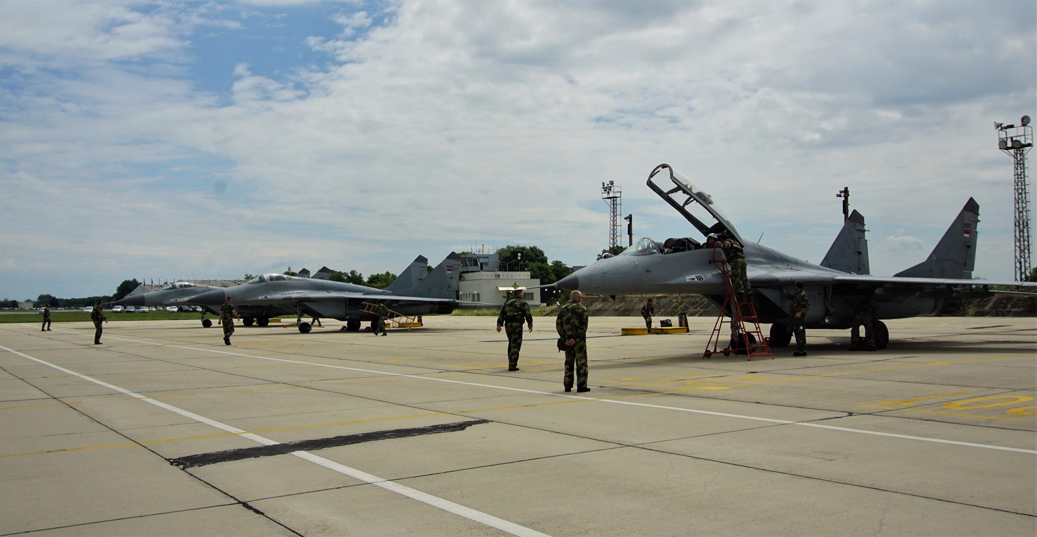 Български и сръбски екипажи на МиГ-29 ще участват съвместно в стрелби на зенитен полигон на ВВС - Шабла