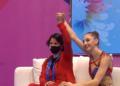 Сребърен медал за Боряна Калейн в многобоя от европейското във Варна
