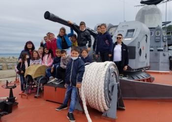 Ученици посетиха пункт за базиране Бургас