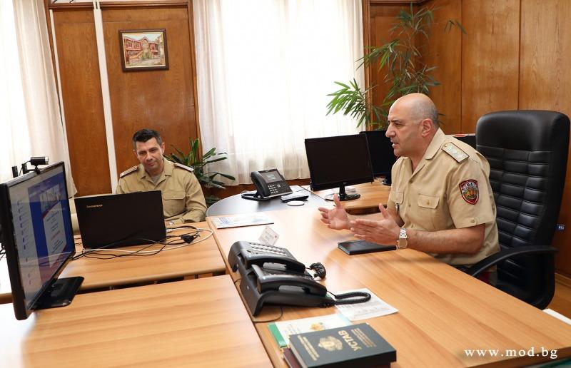 Заместник-началникът на отбраната генерал-лейтенант Димитър Илиев: Подготовката на предстоящото българско председателство на процеса SEDM е в ход