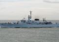 Учение на кораби с бойни стрелби