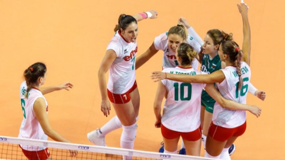 Община Русе приветства женския ни национален отбор по волейбол