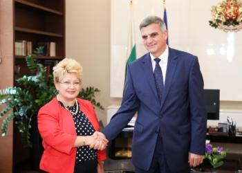 Премиерът Стефан Янев се срещна с посланика на Румъния, обсъдиха трети мост над Дунав