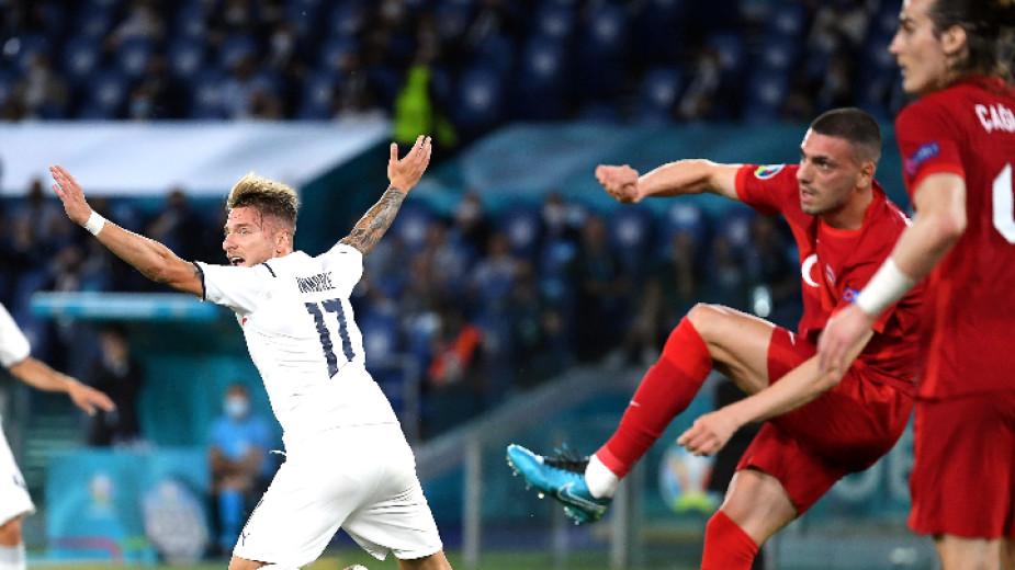 Италия започна с класическа победа срещу Турция