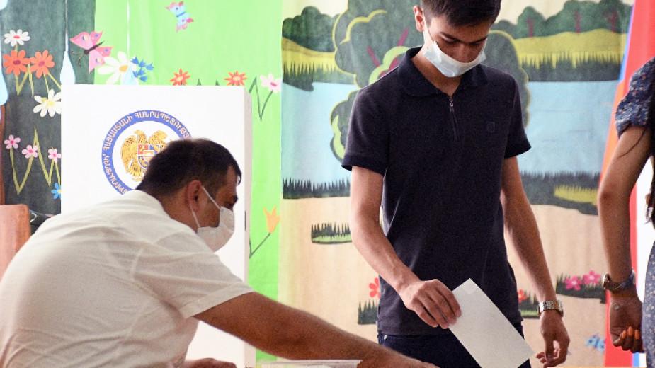 Партията на Никол Пашинян - големият победител от парламентарните избори в Армения