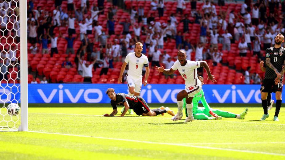 Англия - Хърватия 1 : 0
