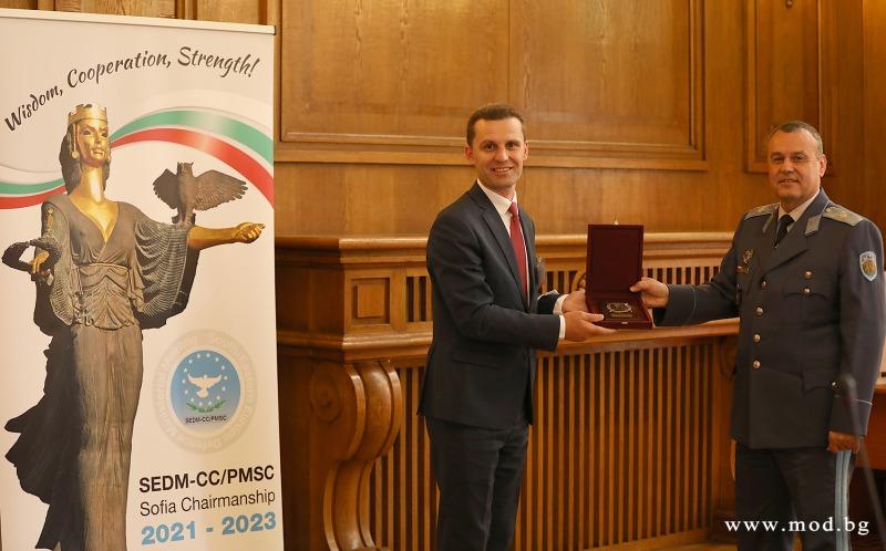 България поема председателството на Процеса на срещи на министрите на отбраната от Югоизточна Европа