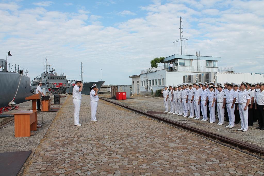 58 години от създаването на четвърти дивизион патрулни кораби