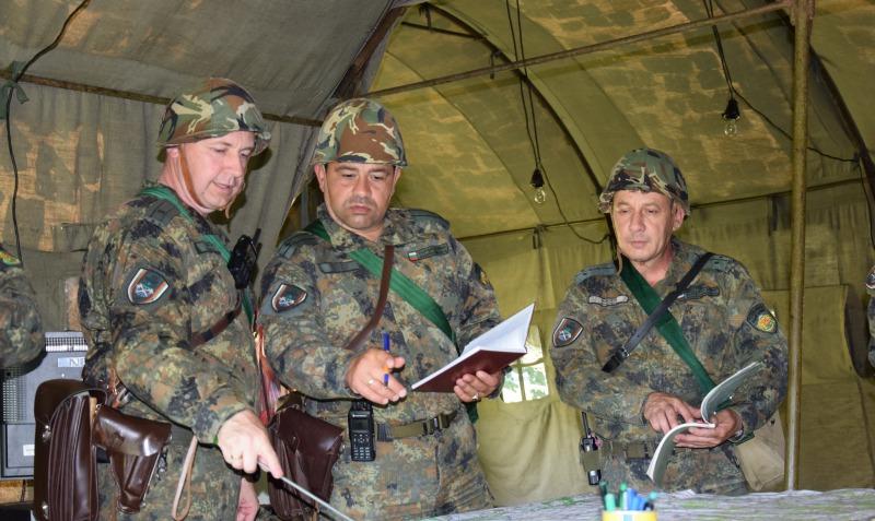 "Командно-щабно учение ""Инженерен щит 21"" се проведе в 55-и инженерен полк – Белене"